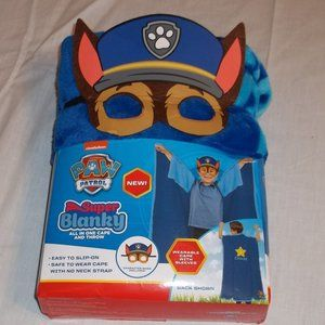 Nickelodeon Paw Patrol All in one Cape and Throw